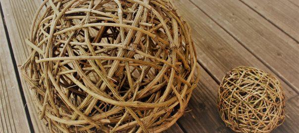 Materiaux Naturel vannerie buissonnière : fabriquez vos déco de noël avec des