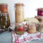 Choucroute et condiments fermentés