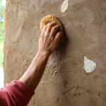 Eco Construction : Enduit d'intérieur et décoratif en terre crue