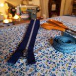Couture : Création d'une pochette à zip (atelier parent-enfant)